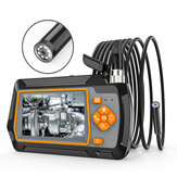 Bakeey AGC-430 8.5MM Borescope Camera 1080P HD 8LED Adjustable Industrial Lens IP67 2600mAh 1M Flexible Snake Cable Inspection Camera with 4.3inches LCD Screen