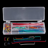 140pcs U Shape Shield Solderless Breadboard Jumper Cable Wires Kit