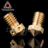 Trianglelab® / Dforce® T-V6 Латунное сопло V6 Сопло для 3D-принтеров hotend M6 Резьба для сопел E3D экструдер hotend titan