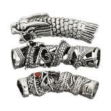 3 en 1 Bracelet en forme de cheveux en forme de poils Bracelet Bracelet Bracelet Collier Bracelet Argent Micro Link