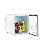 Portable Compact Personal Fridge Cools Heats Car Refrigerator