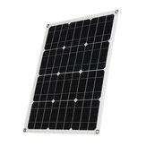 40W Solar Panel Controller Car Charger MC4 Output Battery Clip Solar Power Panel