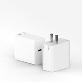 Xiaomi Type-C Charger 65W Fast Flash Charging Travel Charger Adapter For Xiaomi Mi10 Redmi Note 9S Huawei P30 Pro