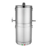 220V 15L Stainless Alcohol Multiple Distiller Ethanol Boiler Home Stainless Alcohol Distiller Gift
