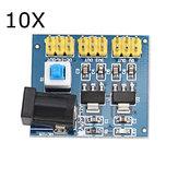 10ピンDC-DC 12V〜3.3V / 5V / 12V電圧コンバータ電源モジュール