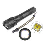 MECO 1235 XHP70 3 Modi Rotary Zoom Wasserdichte Helligkeit LED Flashlight 18650/26650