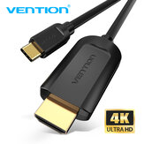 VENTION USB C para HDMI Cabo 4K @ 30 Hz HD Vedio Cable Para MacBook Huawei Mate 30 P30 Pro Galaxy S20 Note 20