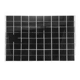 AUGIENB Kit de panneaux solaires flexibles Puissance Batterie Charge Batterie Chargeur Caravane Bateau Camping-car RV avec fil