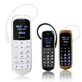 LONG-CZ J8 0.66-inch 300mAh Single Micro SIM bluetooth Headset Mini Card Phone
