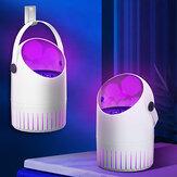 Lâmpada elétrica para matar mosquitos com alimentação por USB LED Lâmpada para matar mosquitos fotocatalisadora muda