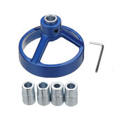 Drillpro Blue Joinery System Kit Vertical Hole Jig Drilling Guide Fast Woodworking Drilling Tool