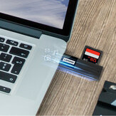 Lenovo D231 2-IN-1 Portable Mini USB 3.0 High-Speed TF/SD Adapter Card Reader for Macbook Computer PC