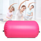 PVC Inflatable Yoga Roller Muscle Massage Gym Training Exercise Roller for Women Men