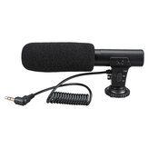 3.5mm External Stereo Microphone MIC for Canon DSLR Camera DV Camcorder
