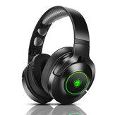 PHOINIKAS Q9 Gaming-Headset 3,5 mm kabelgebundenes / kabelloses Bluetooth5.0 40 mm-Treiber LED Leichter Over-Ear-Kopfhörer mit Mikrofon für Computer PC PS3/4