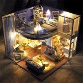 TIANYU Dream Starry Sky (Edição Loft) TD39 DIY Boneca Casa modelo montado à mão criativo brinquedo criativo com tampa contra poeira