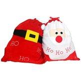 Рождественский чулок Украшение Санта-конфеты Сумка чулок Рождественский подарок Сумки Хранение конфеты ювелирных изделий