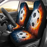 1/2Pcs Car Front Seat Cover Cases Protector Sport Style Printed Truck