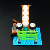 DIY Электрический мяч стрельба машины робот игрушка сборная игрушка для детей