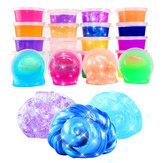 24PCS Colorful Crystal Mud Non Toxic Slime Mud Toys Pinata Luminous Ramen Soil DIY Environmental Toy