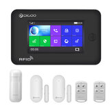 DIGOO DG-HAMA Alle touchscreen Alexa-versie 433 MHz 2G & GSM & WIFI DIY Smart Home Security Alarmsysteem Kits