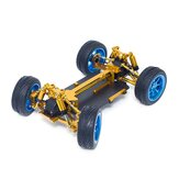 Wltoys 1/18 4WD A959 A969 A979 All Metal RC Car Chassis RC Vehicle Models Parts Red/Gold/Titanium