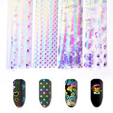 Unhas Art Sticker Symphony Star Paper Set