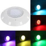 36W RGB 180 LED Uzakdan Kumanda Sualtı Yüzme Havuz Işık Su Geçirmez IP68 Duvara monte AC / DC12V