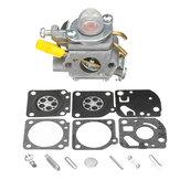 Carburador + kit de reconstrucción para Homelite Ryobi 25cc String Trimmer Carb 308054003
