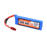ZD Racing 7,4 V 1500 mAh 15C 2S Lipo Batterie für DTK16 MT-16 S16 BX-16 9051 9053 16427 1/16 RC-Fahrzeugmodelle