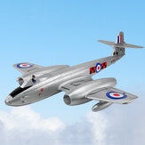 Dynam Gloster Meteor F.8 Meteor 1270mm Winspan Dual 70mm 6S 12-Blades Duct EDF Jet EPO RC Airplane PNP