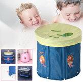 Luomande składana wanna dla dorosłych / niemowląt Opcjonalna pokrywa beczka parowa do potu domowego