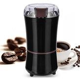 TaşınabilirElektrikliKahveDeğirmeniFasulyeFındık Freze Taşlama Makinesi Siyah Kahve Makinesi