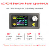 WZ5005E Step Down Power Supply Module Buck Voltage Converter DC-DC 8A 250W 5A Programmable with 1.44in TFT LCD Display