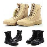 Män High Top Tactical Military Desert Army Boots Combat Vandringsskor utomhus