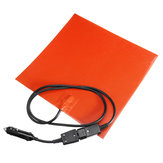 280*280mm 150W 12V Silicone Heated Bed Heating Pad with 1m Detachable Power Cable