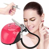 Cup Dual Action 0.2mm Nozzle Airbrush Kit Compressor with Air Brush Paint Spray Tool for Nail Art Make Up Air-brush