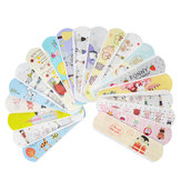 100Pcs Waterproof Ademend Leuk Cartoon Band Aid Emergency Kit voor Kids Kids