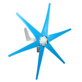 800W Peak 12V/24V 3/6 Blades Wind Turbine Generator Windmill Power with Charge Controller