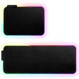 Zimai 35 * 25 * 0.3см RGB Colorful Подсветка LED Маленькая Мышь Коврик противоскользящий резиновые