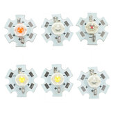 1W LED PCB Light Bead Chip Bulb Indoor Reading lampada per piante Grow Aquarium 6 colori
