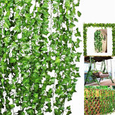 10Pcs Artificial Trailing Ivy Vine Leaf Ferns Greenery Garland Plants Foliage Flowers Decorations