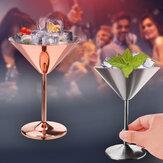 Cóctel de acero inoxidable de 200 ml Gafas Copas Copa de banquete para fiestas