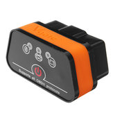 Vgate iCar 2 ELM327 bluetooth OBD2 V2.1 Alat Diagnostik Mobil Code Reader Scanner untuk iPhone Android