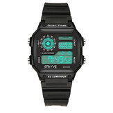 STRYVE S8013 Black Strap Luminous Display Digital Watch