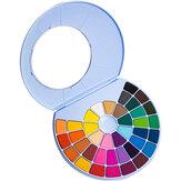 مجموعة طلاء ألوان مائية من MIYA 24/38 لونًا ، مسحوق ألوان مائية ، كعكة ، ألوان مائية ، لوحة فنية ، غواش ، مستلزمات فنية للطلاب المبتدئين