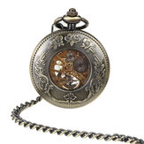 DEFFRUN Retro Style Mechanical Pocket Watch