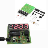 DIY Multifunktions-Vierbit-Digitaluhr MCU-Uhr Satz