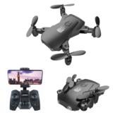 XLURC LU Mini 2 WiFi FPV avec 4K HD Mode de maintien d'altitude de caméra Drone RC Quadricoptère RTF