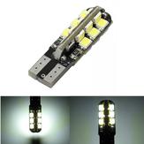 T10 3528 24SMD LED bianco LED auto lato strumento lampada della lampadina di larghezza W5W